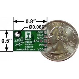 Capteur MinIMU-9 v3 Gyroscope, accéléromètre et boussole