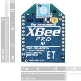 Puce XBee Pro 60mW Chip Antenna - Series 1 (802.15.4)