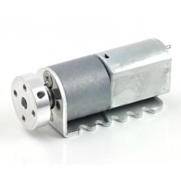 Paire de supports pour micromoteurs à engrenages métalliques 20D