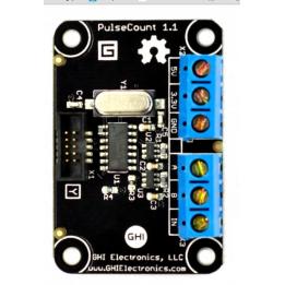 Gadgeteer Pulse Count Module
