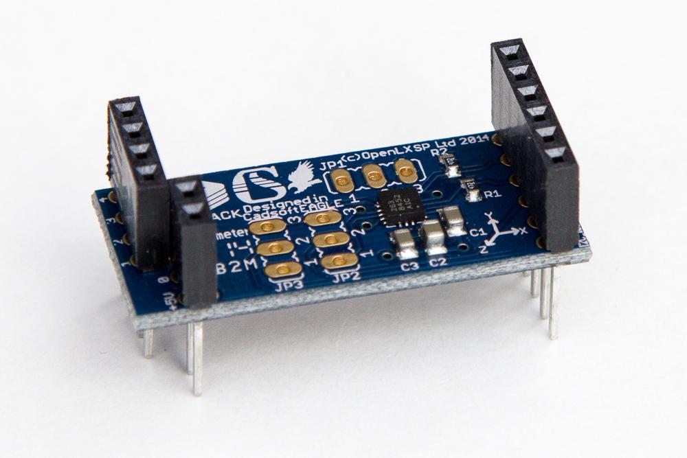 Microstack 3 achsen beschleunigungsmesser für raspberry pi