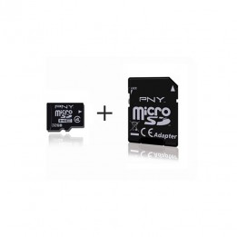 MicroSD card 32GB with SD adapter