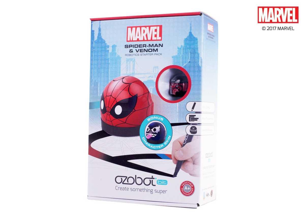 Ozobot Marvel Spider-Man Starter Pack