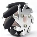 60mm aluminium right mecanum wheel