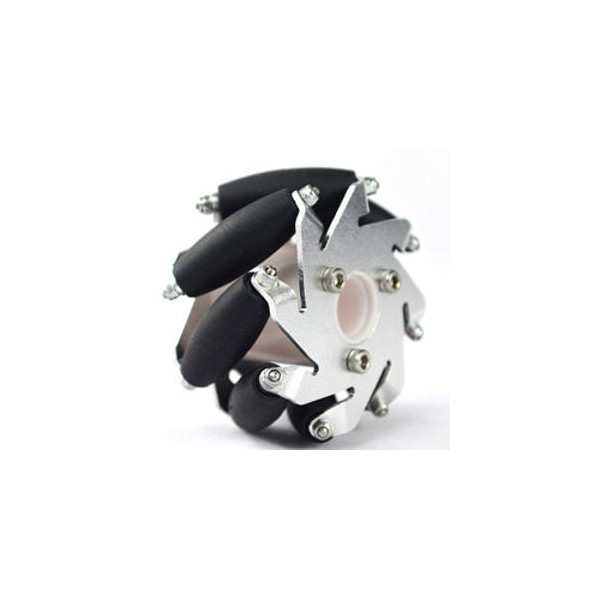 60mm aluminium left mecanum wheel