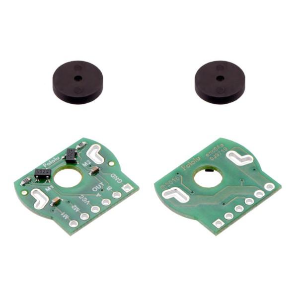 Paire d'encodeurs magnétiques pour micromoteurs 20D, 2,7-18V