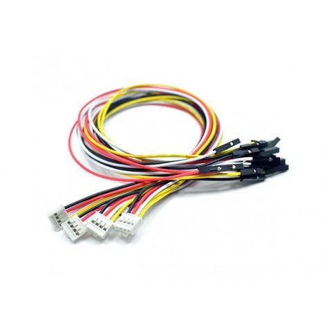 Câble avec embout Jumper femelle 4 broches embout de conversion Grove 4 broches (5 pièces/pack)