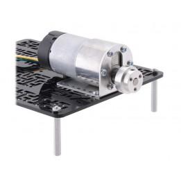 Adaptateur de roue 6mm en aluminium Pololu