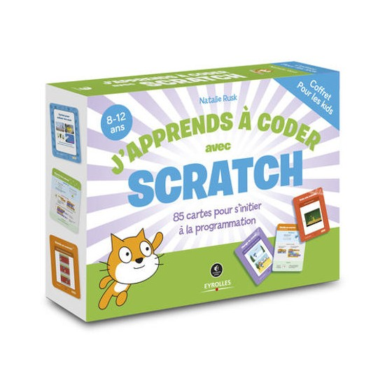"Coffret ""J'apprends à coder avec Scratch"""