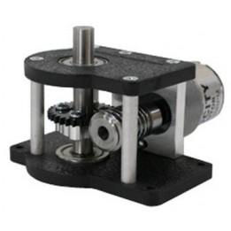 Schneckengetriebe mit vertikaler Welle von ServoCity