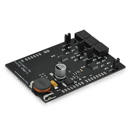4-20 mA Sensor Board (Current Loop) for Arduino, Raspberry Pi and Intel Galileo
