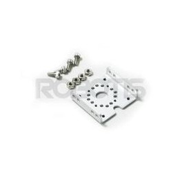 Fixation plate FR07-S1 for Dynamixel RX-28 actuator