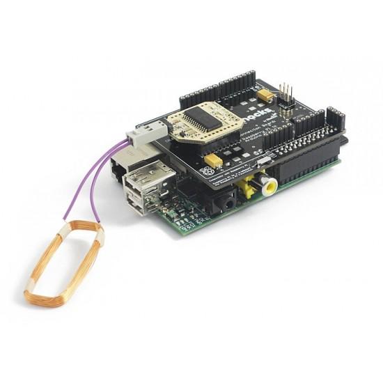 RFID 125 kHz Shield for Raspberry Pi