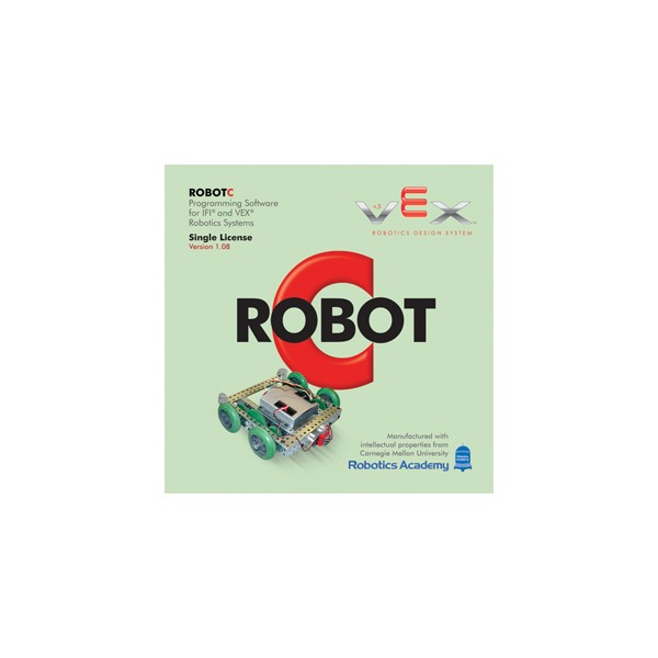RobotC for IFI Vex Robotics - 12 Seat Classroom license