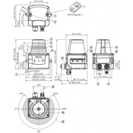 Télémètre laser TiM571-2050101