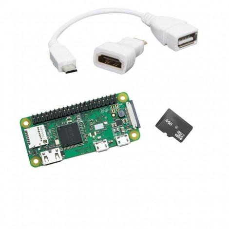 Komplettes Raspberry Pi Zero WH Starter Kit