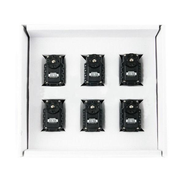Pack de 6 servos Dynamixel AX-18A