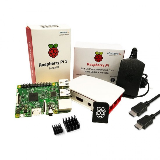 Starter Kit Officiel Raspberry Pi 3 modèle B