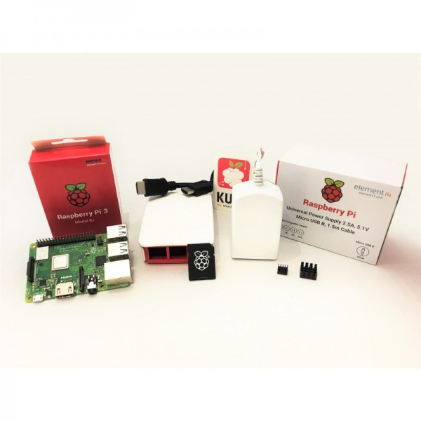 Starter Kit Officiel Raspberry Pi 3 modèle B+