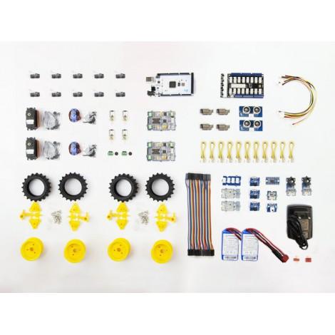 Set Elektronik und Motorisierung für RoboCup Junior Rescue Challenge