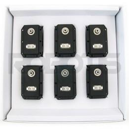 Pack of 6 Dynamixel MX-64R servo motors