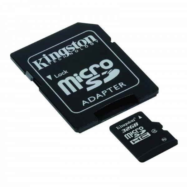 Carte microSD 32Go classe 10 avec adaptateur SD