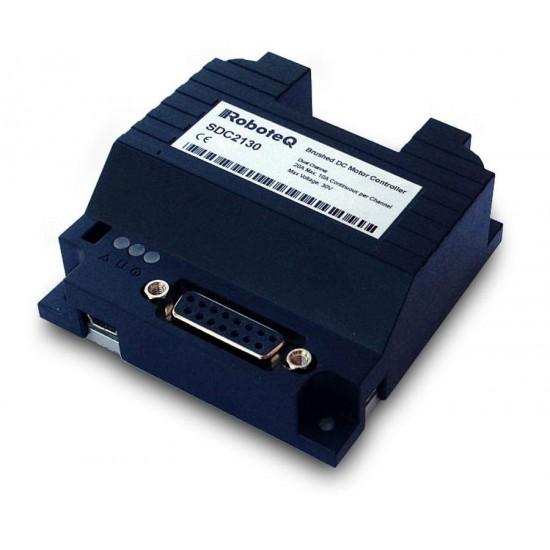 Contrôleur de moteur à balais Roboteq 1 x 40A 60 V - SDC 2160 S