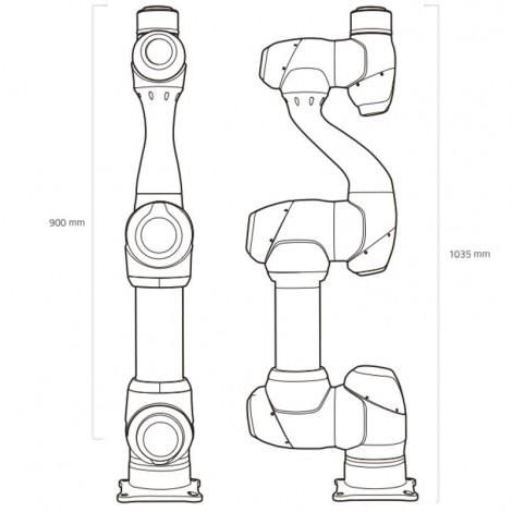 Bras robotique Doosan M0609