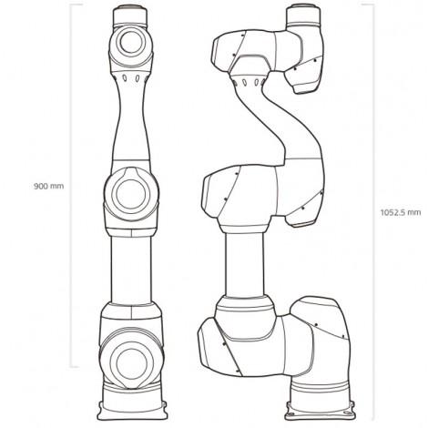 Bras robotique Doosan M1509
