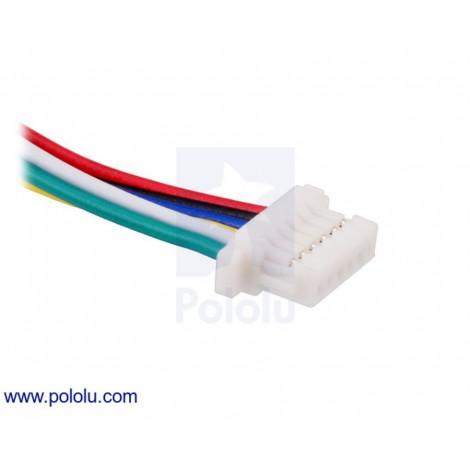 Câble 6 pin type JST-SH femelle