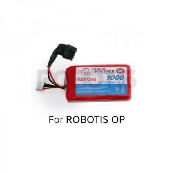 Batterie 11.1V 1000 mAh pour TurtleBot 3 et Robotis OP - LB-011
