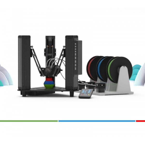 Imprimante 3d mooz-3 pour l'éducation
