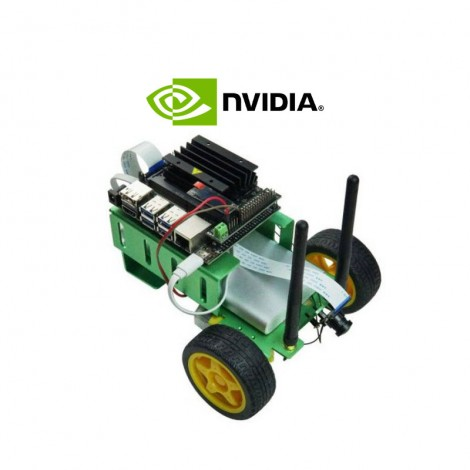 Kit JetBot Smart Car (carte NVIDIA Jetson Nano non incluse)