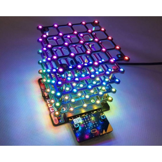 Kit de LED programmables Cube:bit (base et micro:bit non incluses)