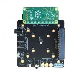 Plaque de base pour Cube:Bit (Raspberry Pi et micro:bit non incluses)