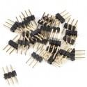 Coupleurs 3 pin pour câbles jumper (pack de 25)
