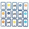 Pack Complémentaire de Cartes Séquentielles Blue-Bot