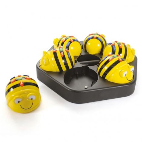 Pack de Robots BeeBot pour la classe (6 unités et station d'accueil)