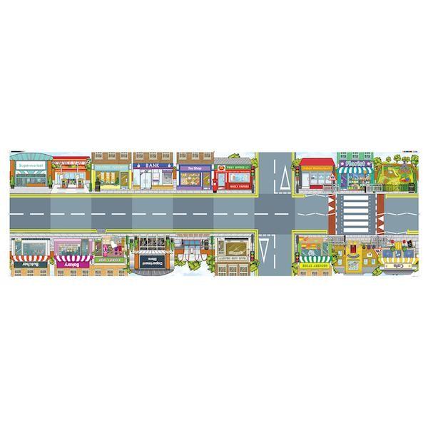 Bodenmatte Innenstadt für Bluebot/Beebot
