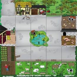 Bee-Bot Lernbodenmatte Bauernhof