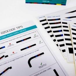 Farbige Aufkleber für Ozobot Bit und Ozobot Evo