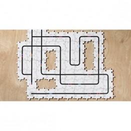 Circuit puzzle en bois pour robot Ozobot
