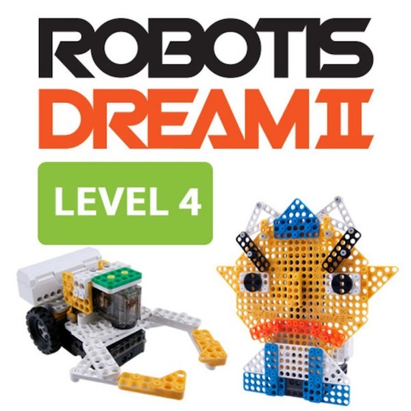 Kit éducatif ROBOTIS DREAM II Niveau 4