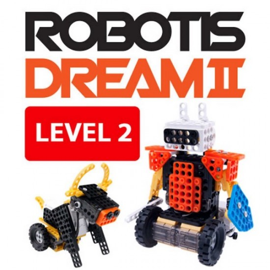 Kit éducatif ROBOTIS DREAM II Niveau 2