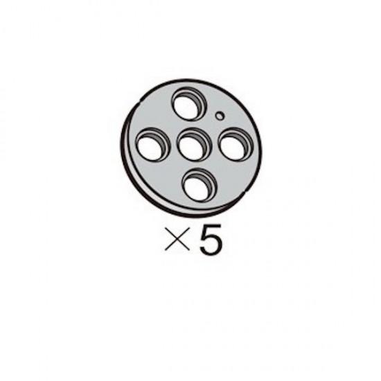 OLLO Pulley-L gray 5pcs