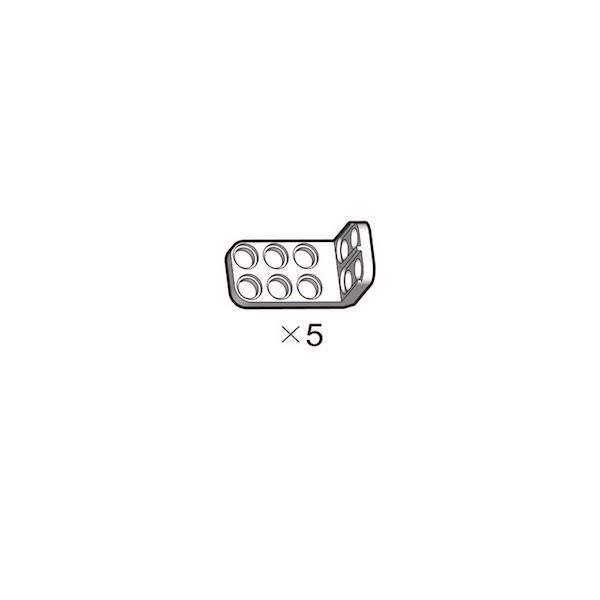 Support en L blanc OLLO (5 pièces)