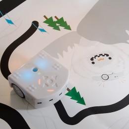 Piste Découverte Yéti pour robot Thymio II