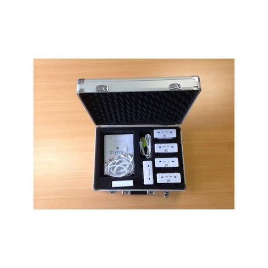 Koffer mit 5 Thymio II Wireless Robotern für die Ausbildung