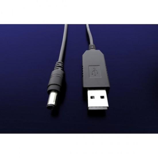 Konverterkabel 5V-USB/9V-Stecker für den Roboter Marty