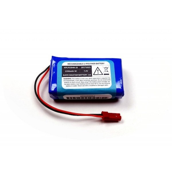 LiPo Akku 1400 mAh 7.4V für den Marty Roboter